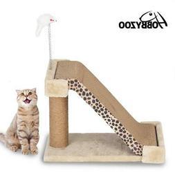 "HOBBYZOO 19"" 21""  26""  Cat Tree Tower Condo Furniture Scratc"