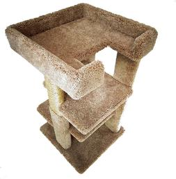 """3 LEVEL, 33"""" CAT TREE - *FREE SHIPPING IN THE UNITED STATES*"""