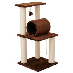 "33"" Cat Tree Condo Tower Furniture Scratch Post Kitten Pet P"