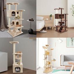"""36"""" 52"""" 60"""" 80"""" Cat Tree Tower Condo Furniture Scratch Post"""