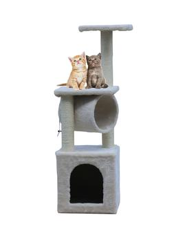 """36"""" Cat Tree Bed Furniture Scratching Tower Post Condo Kitte"""