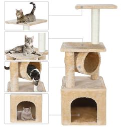 36 Inch Cat Tree Tower Activity Center Large Playing House C