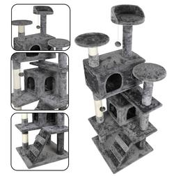 """53"""" STURDY Cat Tree Tower Activity Center Large Playing Hous"""