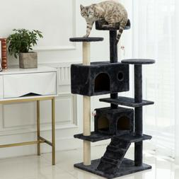 """64"""" Large Cat Tree Tower Condo Furniture Scratch Post Kitty"""
