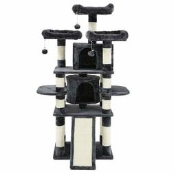 """Feandrea 67"""" Multi-Level Cat Tree With Sisal-Covered Scratch"""