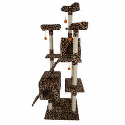 72 inch cat tree tower condo furniture