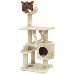 Majestic Pet Products 49 inch Beige Casita Cat Furniture Con