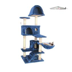Cat Activity Tree Condo Furniture Scratching Post Climber Ki