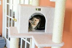 Armarkat 73 Inch Cat Tower with Hammock