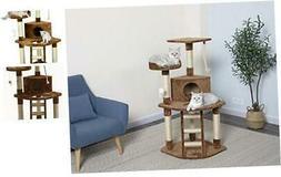 Cat Tree Condo House, 32W x 25L x 47.5H Inches