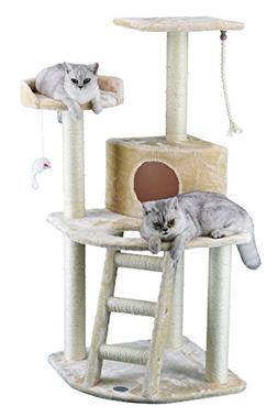 Go Pet Club Cat Tree Condo House, 32W x 25L x 47.5H Inches,