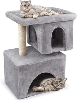 BEAU JARDIN Cat Tree for Big Cats Cat Towers and Condos with
