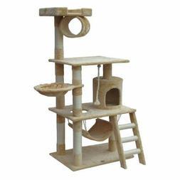 Go Pet Club Cat Tree Furniture 62 in. High