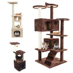 Cat Tree Furniture Kitten House Play Tower Scratching Condo