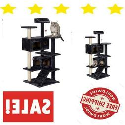 Cat Tree House Condo For Cats Furniture With Large Play Indo