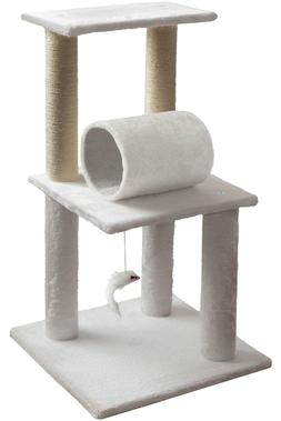 cat tree house w scartching