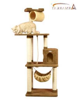 Armarkat Premium Cat Tree Model X7001, Tan
