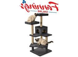 AmazonBasics Cat Tree with Platform Grey New open box
