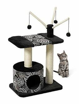 MidWest Homes for Pets Cat Tree |Carnival Cat Furniture, 3-T