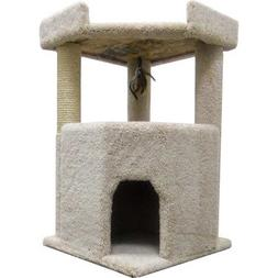 Corner Roost Cat Condo Color: Green