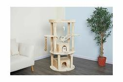 "Go Pet Club Jungle Rope Cat Tree 60"" Beige"