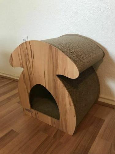 "17"" Cat Play Condo Furniture Bed Pet"