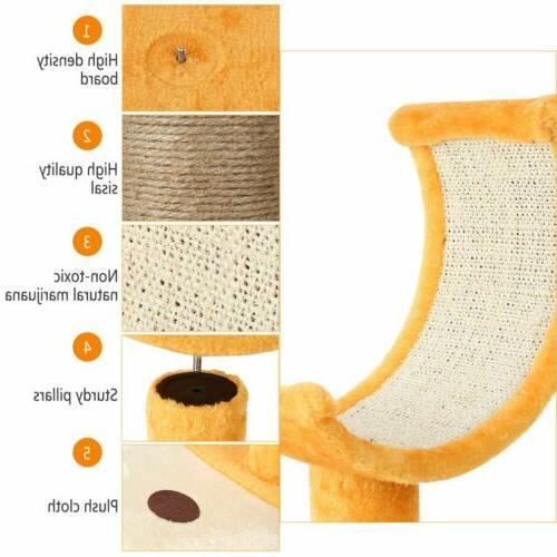 22'' Tree Scratching Condo Furniture Scratch Pet Toy BT