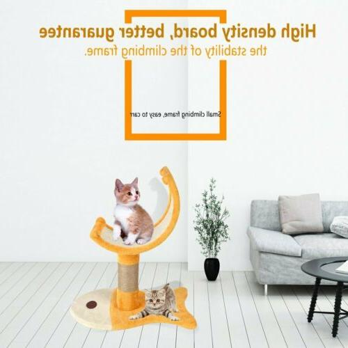 22'' Tree Condo Furniture Scratch Post Pet Play Toy BT
