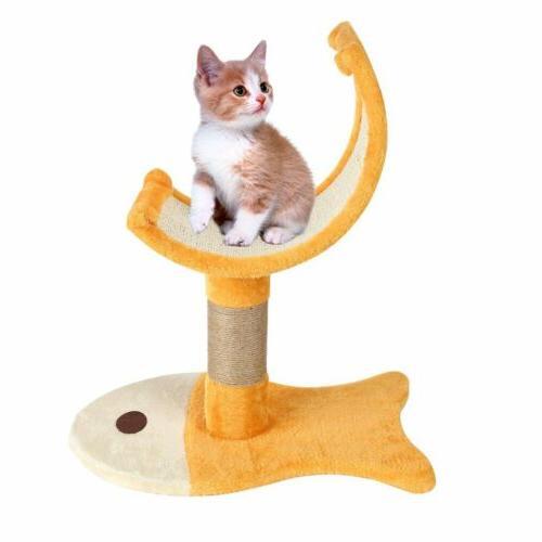 22'' Cat Tree Condo Scratch Pet Play BT