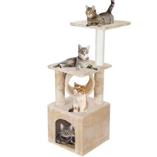 Three Tree Activity Tower Furniture Furniture Scratching
