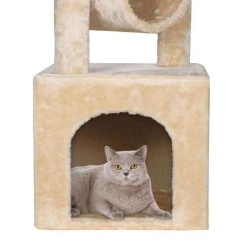 Three Levels Activity Tower Furniture Furniture Scratching