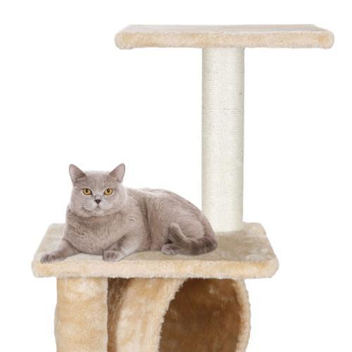 Three Cat Furniture Scratching