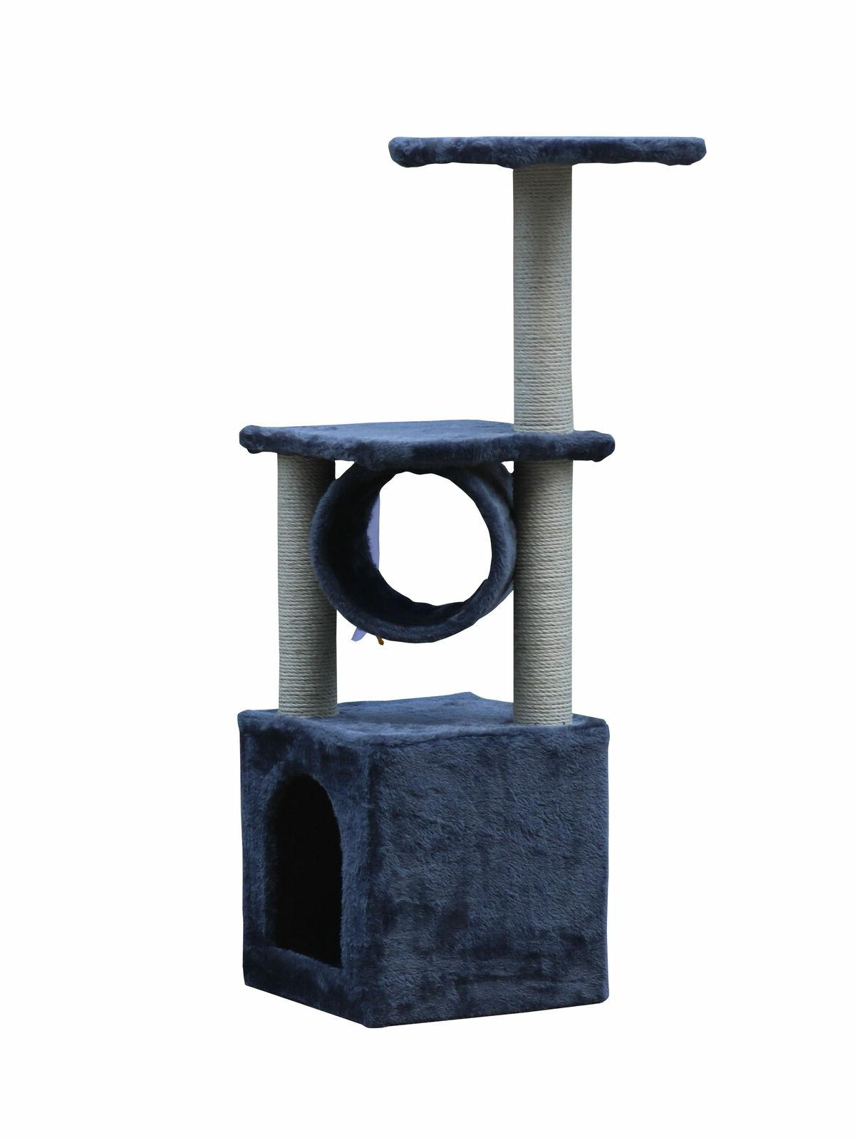 """36"""" Cat Furniture Tower Post Condo Kitty Toys"""