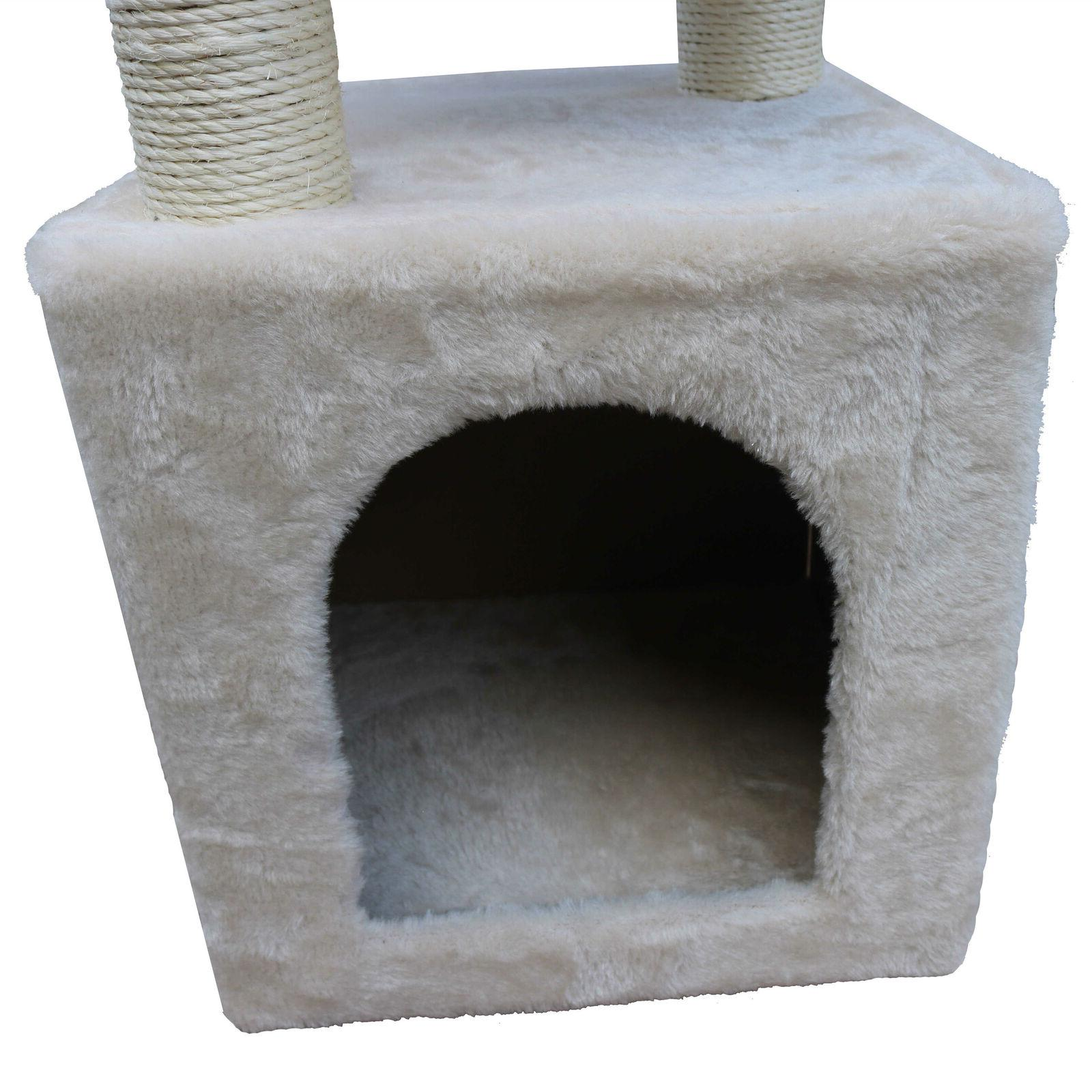 """36"""" Furniture Scratching Condo Kitty Toys"""