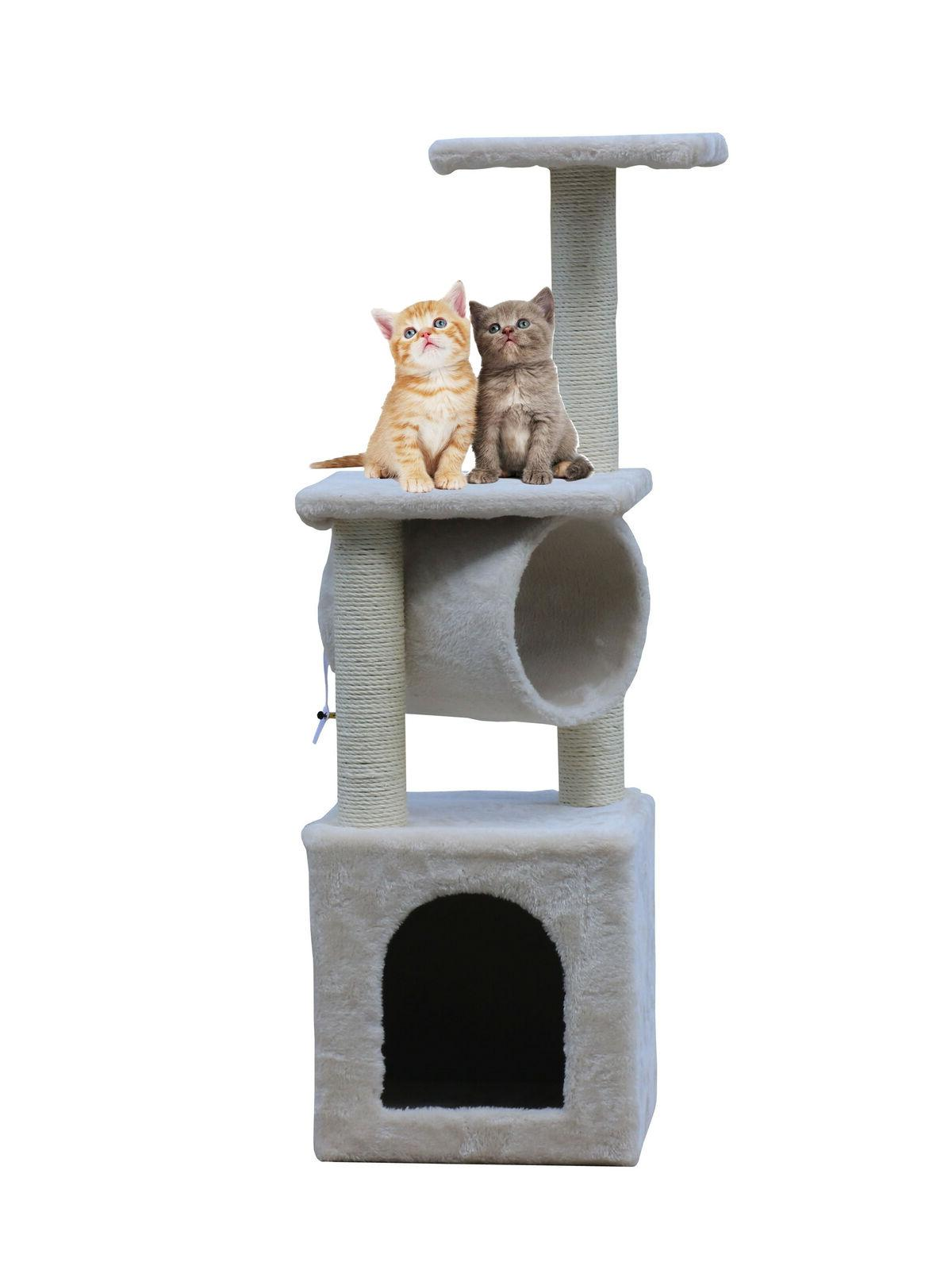 36 cat tree tower condo tunnel scratching