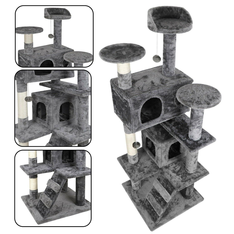 52 sturdy cat tree tower activity center
