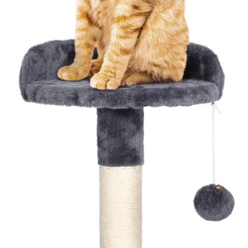 """79"""" Large Tower Pet Play and White)"""