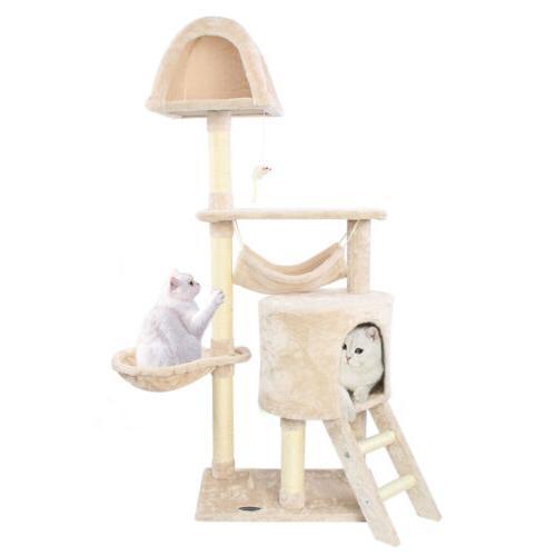 56 cat tree sisal scratching scratcher condo