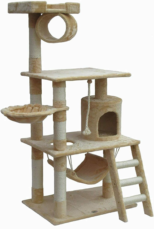 62-Inch Cat Tree