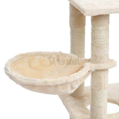 62In Tree Scratching Pet Tower Gift