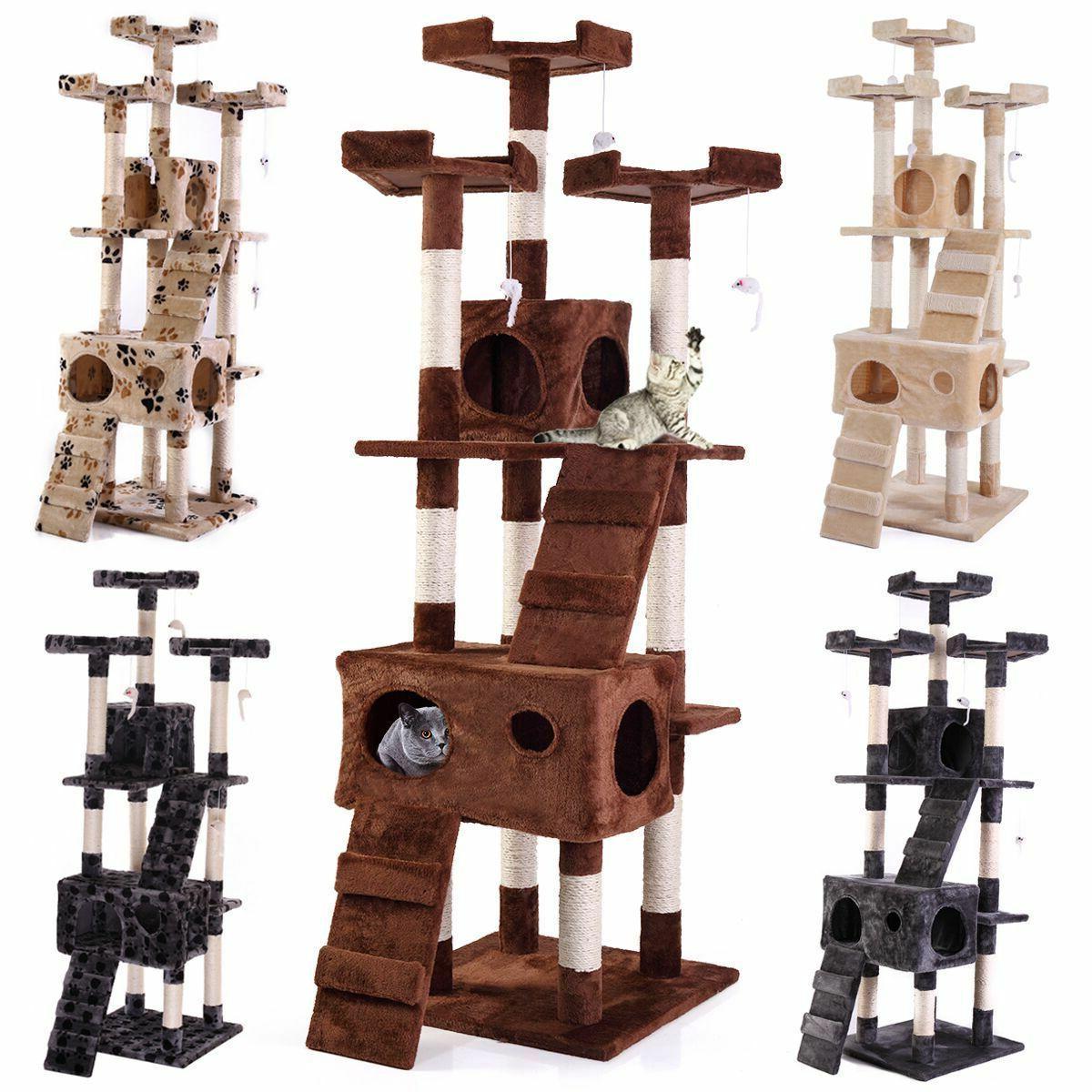 67 cat tree tower condo furniture scratching