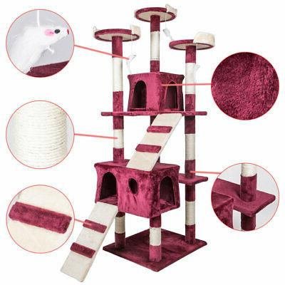 """68"""" Tree Furniture Play House Home Gym Tower"""