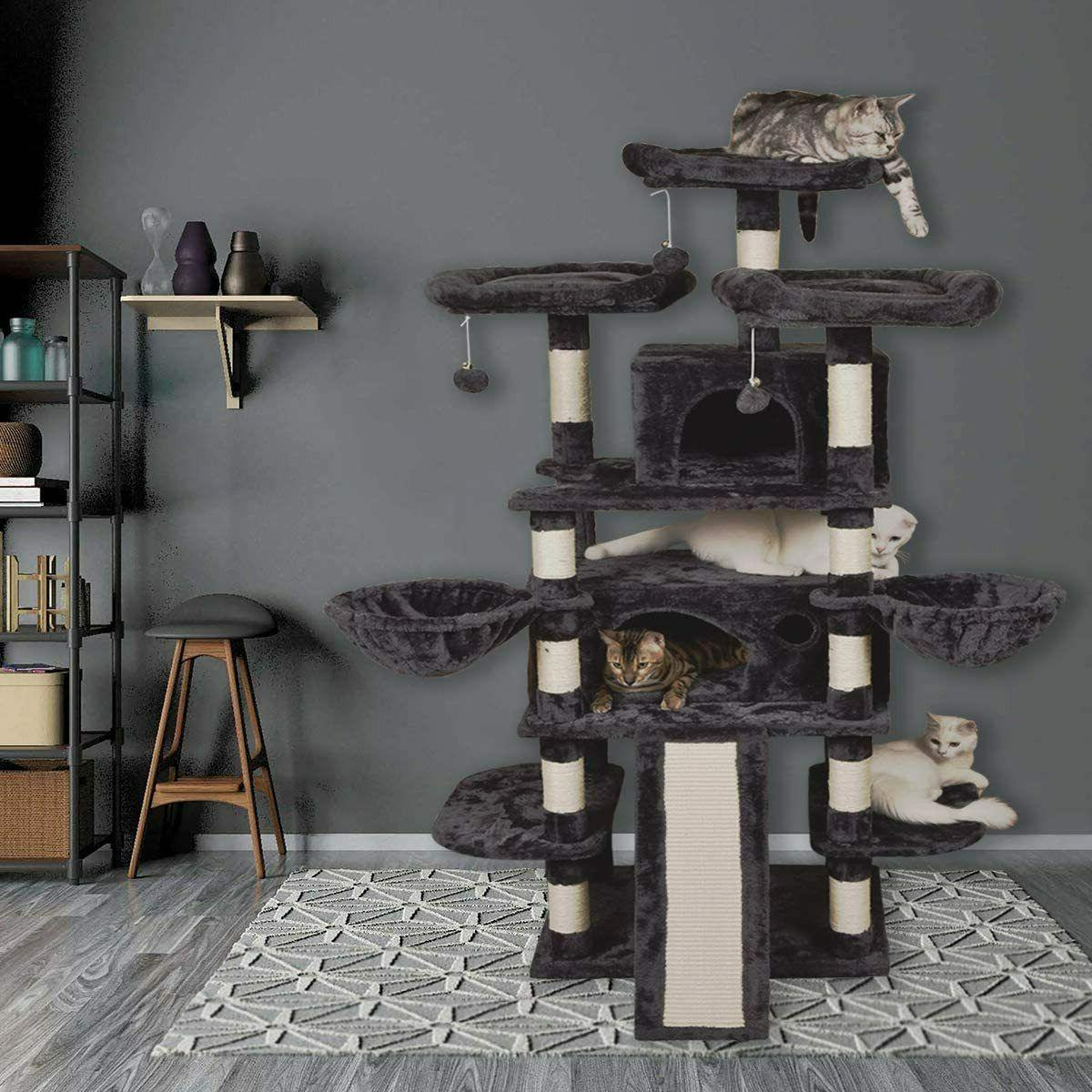 68 Level Cat X Large Size Tower with Stabl