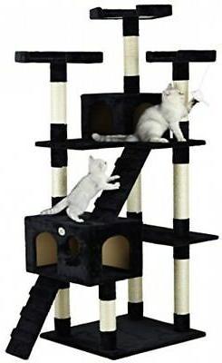 72 IN Pet Supplies Indoor High Black NEW