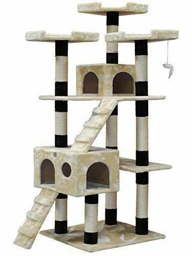 72 inch kitten pet house cat tree