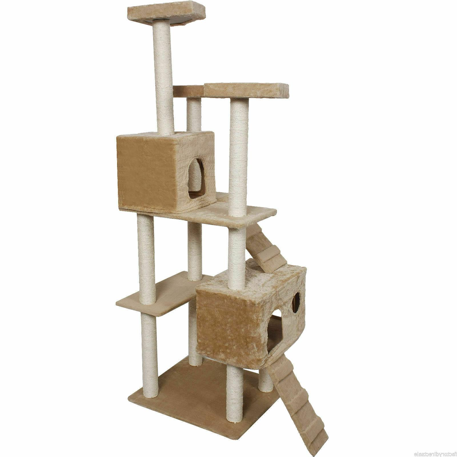 Post Pet Home Bed Kitty Tree