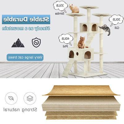 """72"""" Cat Tree for Tower Giant Large Tall Furniture"""