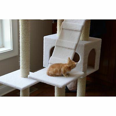 Armarkat Cat Tree Condo Scratcher B7701