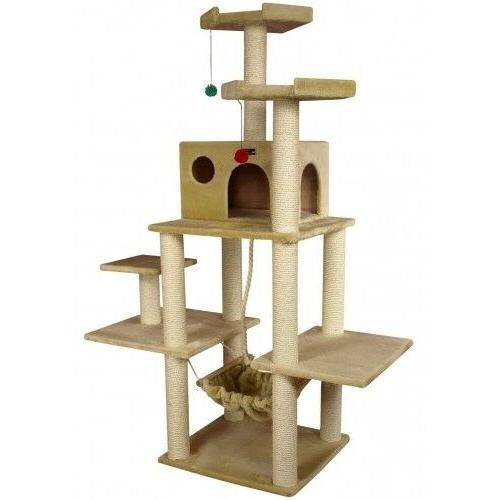 """OxGord Cat Tree 20"""" x 24"""" x 72"""