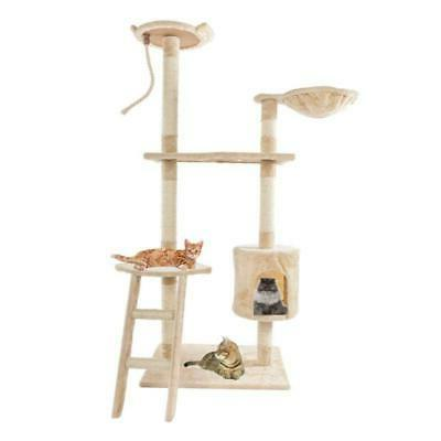cat tree stability climber with ladder furnituretoy